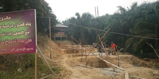 Pembangunan Gedung Baru dan Lokasi Pesantren Putri