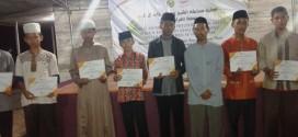 santri PPIIK berhasil meraih juara tiga pada MHQ (musabaqoh hifzul quran) kategori 5 juz