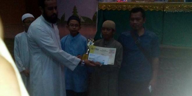 IBNU KATSIR MENJUARAI PIDATO BAHSA ARAB DI ISLAMIC EDUCATION EXPO 2016 JAKARTA